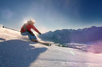 Schnee unter den Skiern und die Sonne im Rücken - nirgendwo gibt es so viele Sonnenstunden wie in Osttirol.