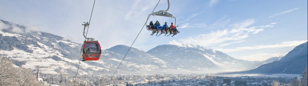 Kein Anstehen am Lift und freie Fahrt auf den Pisten - Die Skigebiete in Osttirol sind eher ein Geheimtipp und daher kaum überlaufen.