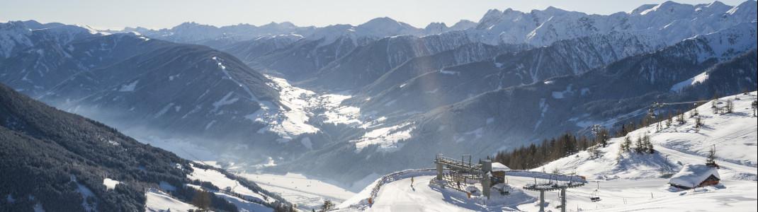Freie Pisten und Traumpanorama im Skizentrum Sillian Hochpustertal