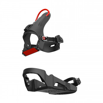 Ready, snap in, go - it's as easy as that with the PreRider 2019 snowboard binding.