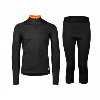 POC's Base Armor protects wearers from cuts on the sharp ice edges.
