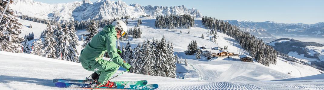 Wir kennen die fünf besten Gründe für einen Trip zur SkiWelt Wilder Kaiser-Brixental