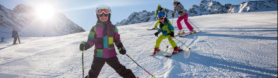 Nauders ist ein Top-Skigebiet für den Winterurlaub mit der ganzen Familie.