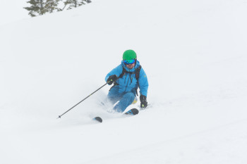 Advanced skiers will enjoy the demanding runs off the groomed pistes.