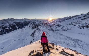 Atemberaubend: Der Panoramablick vom Eggishorn, dem höchsten Punkt des Skigebiets