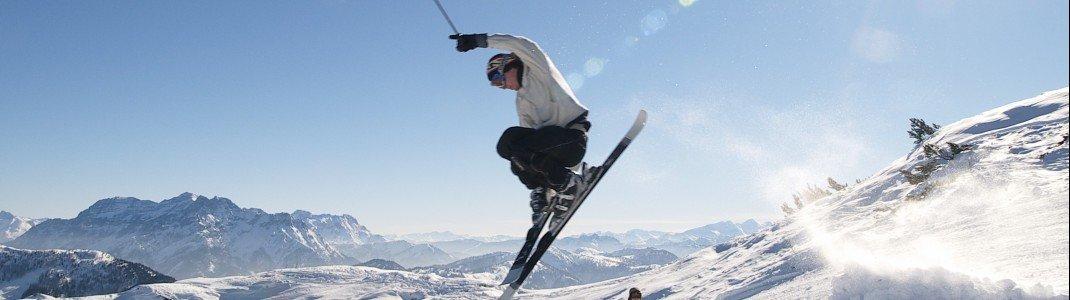 """Das Skigebiet Hochkössen ist einer der insgesamt neun Partner im Verbund """"Alpen Plus Gletscher""""."""