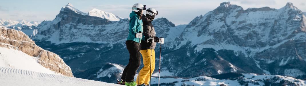 Alta Badia liegt im Herzen der Dolomiten.