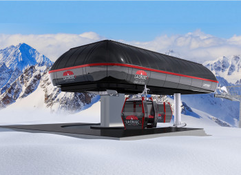The top station of the La Crusc gondola is located 2,015 meters above sea level.