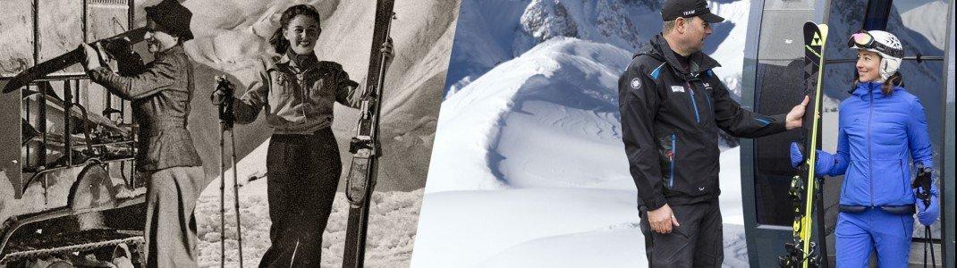 In der Hall of Fame wird die lange Historie des Skifahrens am Arlberg erzählt