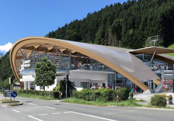 So soll die Talstation des neuen AreitXpress auf der Schmitten in Zell am See-Kaprun aussehen, wenn sie fertiggestellt ist.