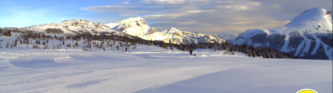 Perfekte Pisten erwarten Wintersportler ab 8. November in Sunshine Village.