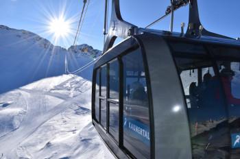 Ein Teil des ÖSV-Teams befindet sich aktuell am Kaunertaler Gletscher.