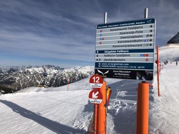 Wo solls hingehen - Ins bayerische Oberstdorf oder in den Tiroler Skiort Riezlern?