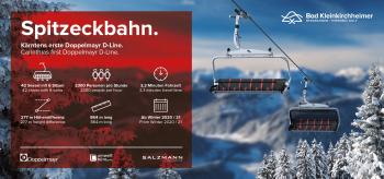 Die neue Spitzeckbahn wird in der Saison 2020/2021 eröffnet.