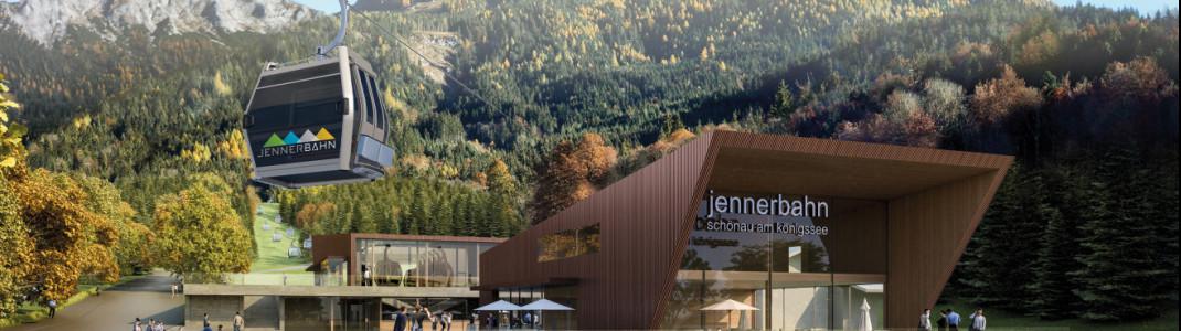 Mit einem Teilbetrieb von Tal- zu Mittelstation startet die neue Jennerbahn am 4. August.