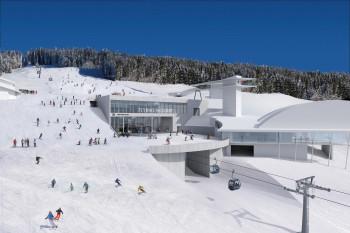 Die Mittelstation der neuen Flying Mozart Bahn wird unterirdisch gebaut.