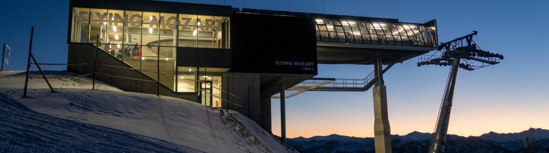 Die neue Bergstation der Flying Mozart wurde bereits im Sommer 2020 gebaut.