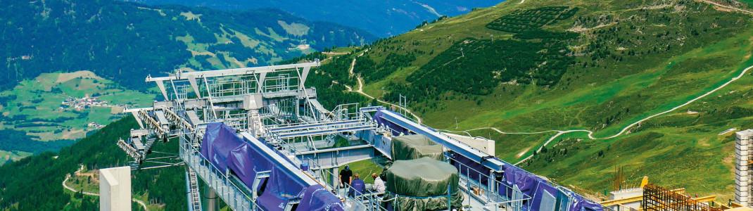 An der neuen Bergstation wartet ein tolles Panorama.