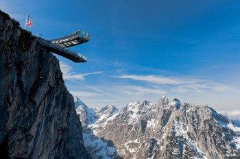 Einen Besuch wert ist im Classic-Gebiet die AlpspiX-Aussichtsplattform.