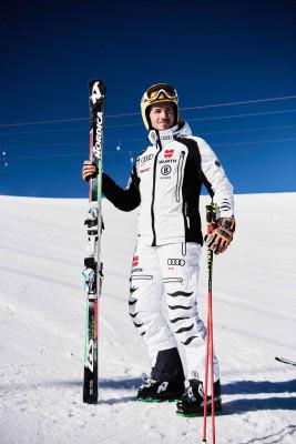 Auch Skiprofi Felix Neureuther geht nicht mehr ohne Protektor auf die Piste.