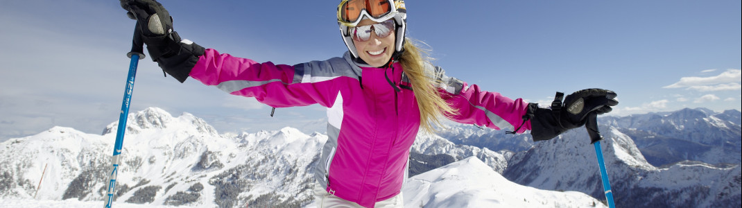 Sonniger Skispaß am Nassfeld