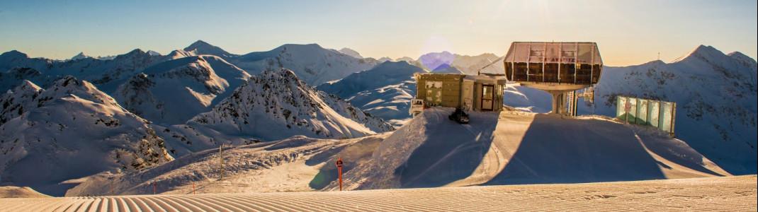 Sanfte Pisten und Traumpanorama erwartet Wintersportler in Obertauern.