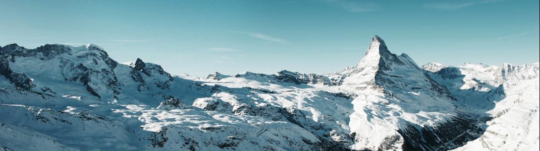 Nichts toppt den Anblick des markanten Matterhorn-Gipfels.