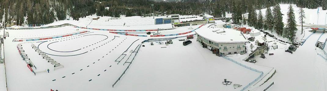 Sechs Biathlonrennen finden von 21. bis 24. Januar 2021 in Antholz statt.