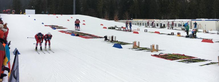 Vor jedem Wettkampf werden auch in Canmore die Skier ausführlich getestet.