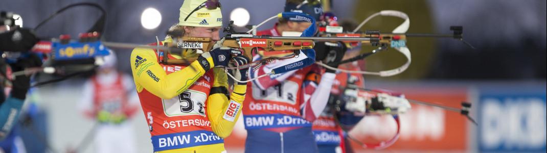 Das Biathlon-Weltcupfinale findet in diesem Jahr in Östersund in Schweden statt. In seiner Heimat will Sebastian Samuelsson nochmal punkten.