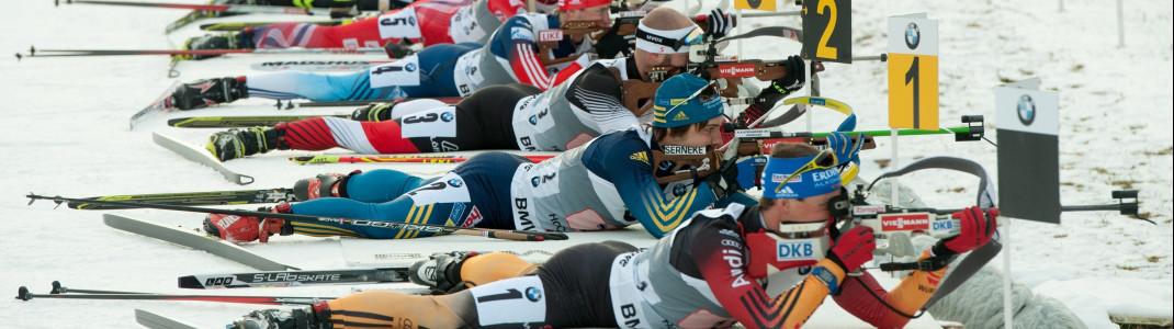 Zwölf Weltcuprennen werden heuer in Hochfilzen ausgetragen.