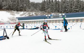 Anfang Januar sind die Biathleten wieder in der DKB Skiarena in Oberhof in Thüringen zu Gast.