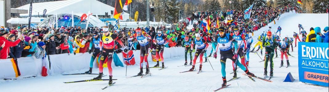 Die Termine für die neue Biathlonsaison stehen fest.