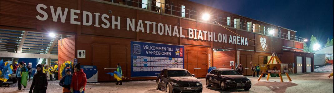 Östersund ist das Zentrum des schwedischen Biathlonsports.