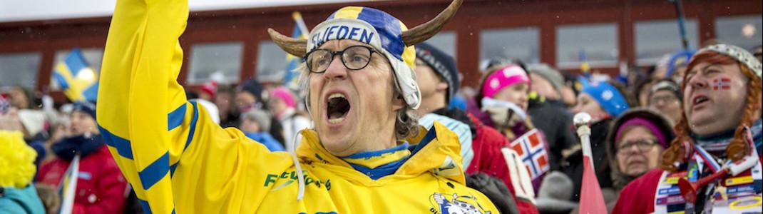 Hanna Öberg hat die schwedischen Fans jubeln lassen.