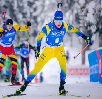 Erster Sieg und dann gleich die Goldmedaille: Martin Ponsiluoma aus Schweden.