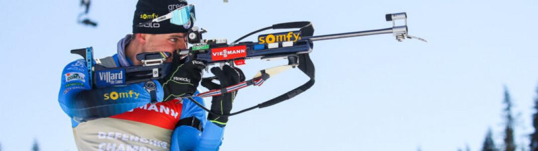 Der alte ist auch der neue Verfolgungs-Weltmeister: Emilien Jacquelin aus Frankreich.