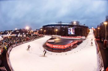 Sowohl in der Veltins-Arena als auch im Außenbereich verteilen sich die Laufstrecken.