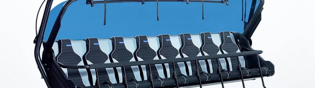 So werden die neuen hochmodernen 8er-Sessel des Ramcharger 8 aussehen.
