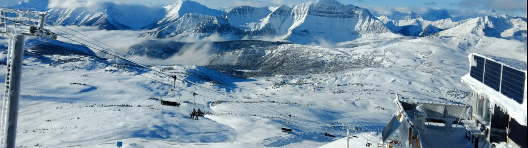 Skiing Canada at its best: Sunshine Village and many other ski resorts guarantee endless winter fun!