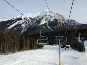 Chairs and gondolas are not fully loaded in most ski areas.