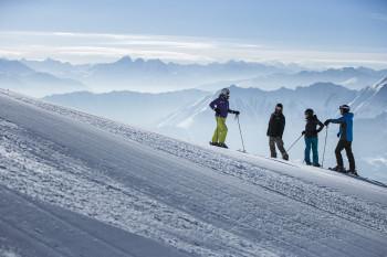 Laax ist das größte Skigebiet in Graubünden.