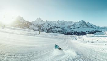 In der Jungfrau Region erwarten dich 206 km Pisten.