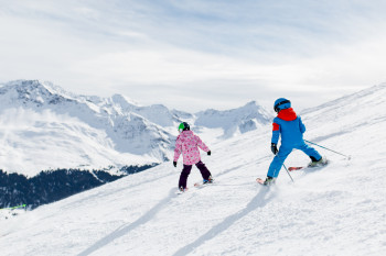 Die Skiregion Arosa-Lenzerheide ist besonders familienfreundlich.