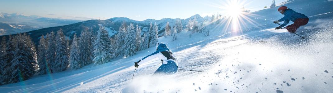 Ski amadé verbindet 25 Skigebiete in Salzburg und der Steiermark.