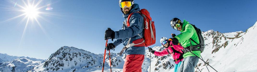 Im Skigebiet Hochzillertal erwarten euch abwechslungsreiche Pisten für alle Könnerstufen.