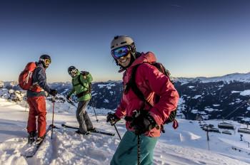 Besonders vielseitig ist das Skigebiet Hochzillertal.