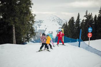 Die qualitätsgeprüften Skiregionen berücksichtigen die besonderen Bedürfnisse von Familien.