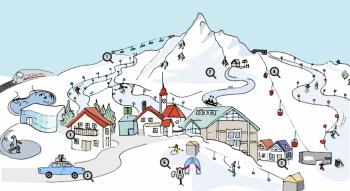 Mit der interaktiven Servicekarte spielend leicht den Urlaub planen