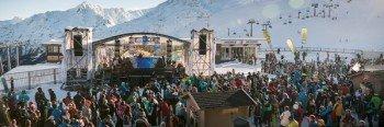 Gute Stimmung beim Electric Mountain Festival